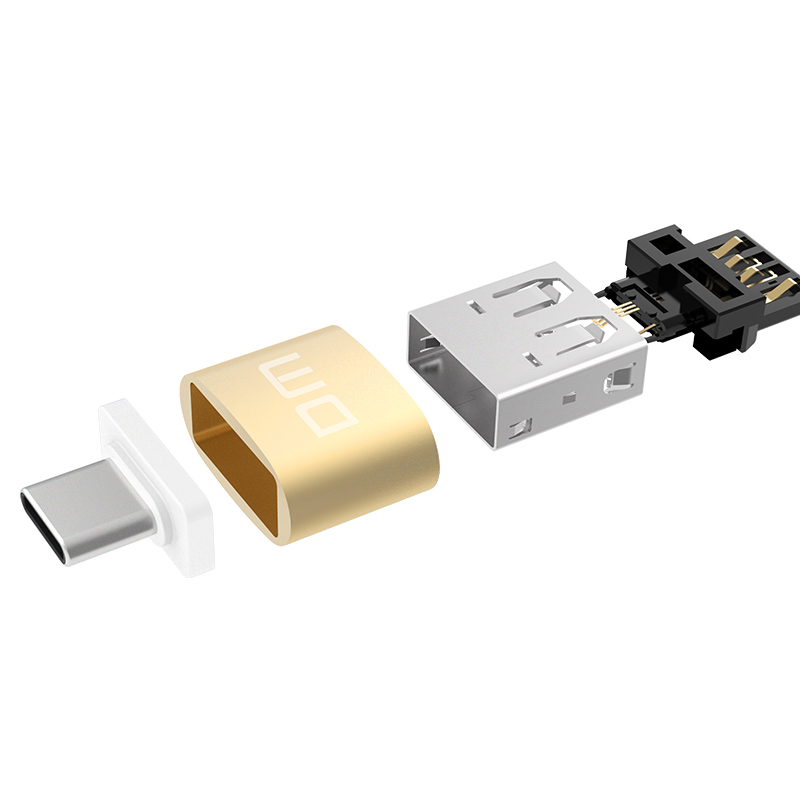 Image 5 - DM  USB C Adapter Type C to USB 2.0 Adapter Thunderbolt 3 Type C Adapter OTG Cable For Macbook pro Air Samsung S10 S9 USB OTG-in Memory Card Adapters from Computer & Office