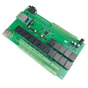 Image 2 - 16 + 8ch ethernet placa pcb kincony módulo de automação residencial inteligente controlador controle remoto 10a relé diy sistema interruptor domotica