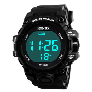 Digital Watch For Men 50m Waterproof Led Electronic Swimming Watches For Men Outdoor Sports Wristwatch Montre Homme orologio 2016 new ohsen brand men boy sports watches led electronic digital watch 50m waterproof casual outdoor dress military wristwatch
