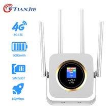 4g Wifi Router Sim Card Unlock 300Mbps Wireless Wi-fi LTE FDD TDD Router Gateway 4 Antennas Modem Boradband Network Hotspot