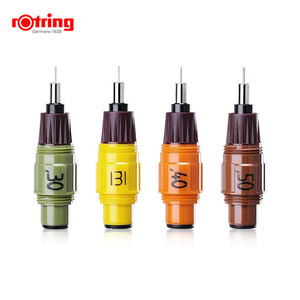 Image 2 - Rotring Isograph pen replacement nib 0.1mm 1.0mm 1piece