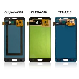 Image 3 - 5.2 LCD pour Samsung A5 2016 LCD affichage A510 A510F A510M SM A510F écran tactile numériseur LCD pour Samsung A5 A510 noir/blanc