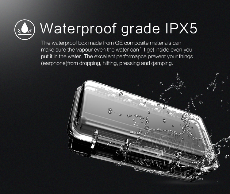 Audiosense Waterproof IEM Hard Casing