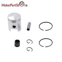 Circlips-Set Piston-Ring-Kit Needle-Bearing Peewee 80cc Yamaha Pw80 47mm Bike Dirt-Pit