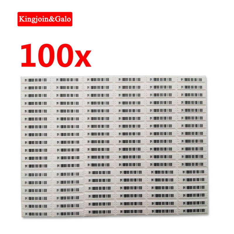 100PCS DR 58Khz Anti-theft Soft Tag For EAS System To Prevent Shoplifting Soft Label Easy To Use