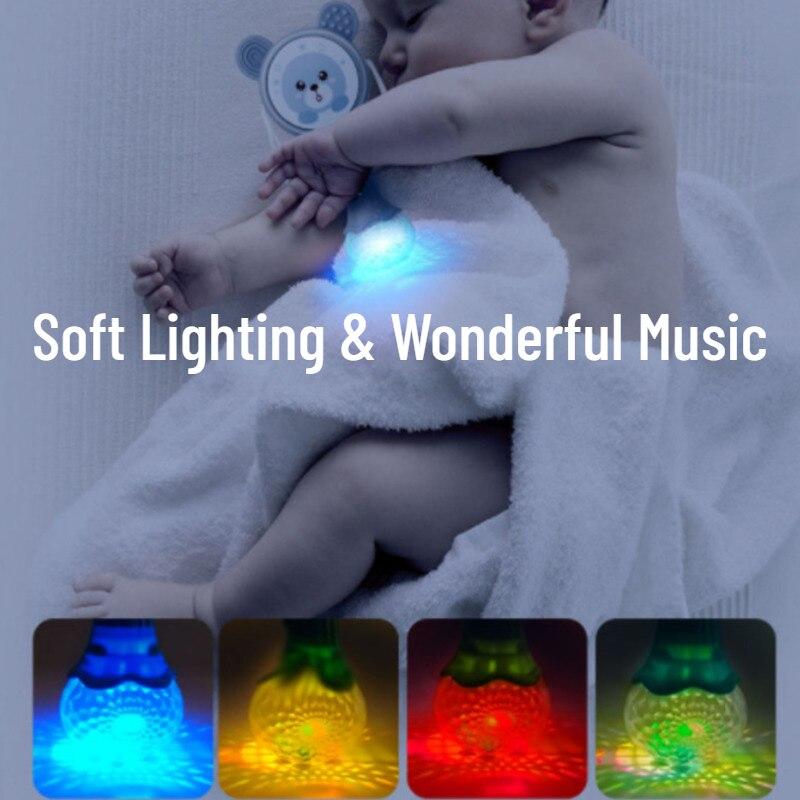 Chocalhos musicais para bebês, brinquedo educacional de