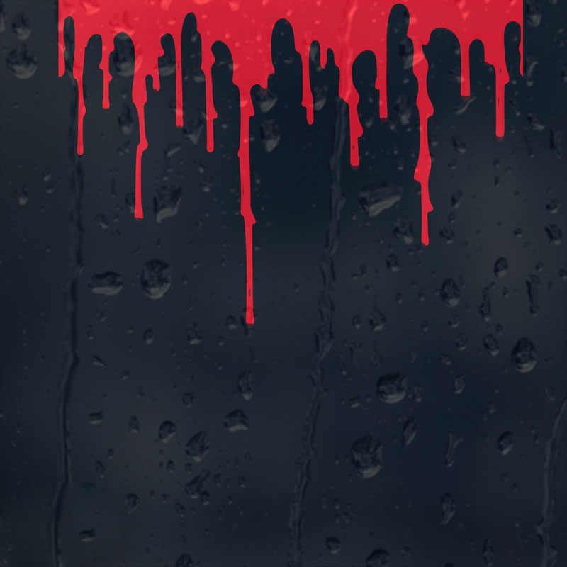15 センチメートル × 10.2 センチメートル血液流血装飾ガラスオートバイのステッカー車のステッカーアクセサリー赤/ブラック/ホワイトジープラングラー日産