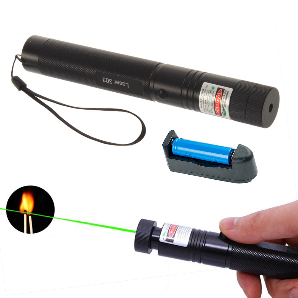 5mW 532nm 303 Green Laser Pointer Powerful Laser Pen Presenter Remote Hunting Laser No Battery Green Dot Hunting Tool
