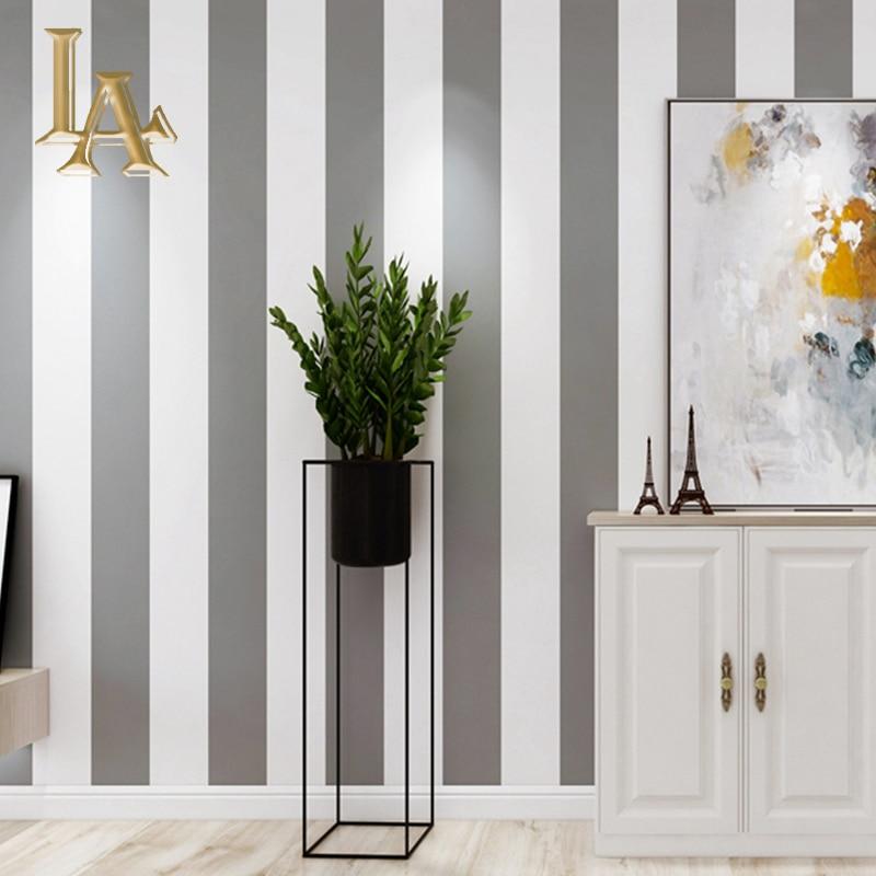3D mode géométrique papier peint Design moderne argent rayure motif gris papier peint rouleau chambre salon décoration de la maison