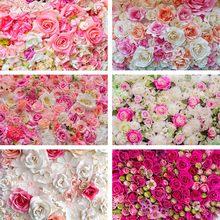Avezano saint valentin photographie arrière-plans mariage Photo mur Rose fleur fête d'anniversaire amour Portrait toile de Fond Studio