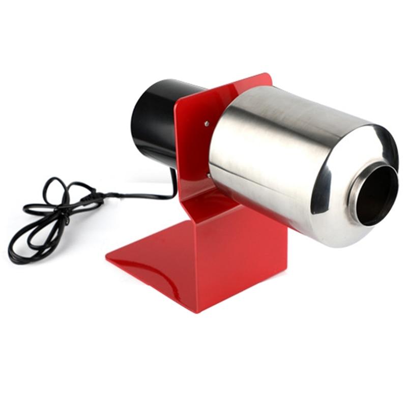Ev Aletleri'ten Kahveciler'de Ev elektrikli kahve çekirdeği kavurma makinesi paslanmaz çelik somunlar çekirdeği rulo pişirme makinesi kahve araçları mutfak aksesuarları title=