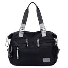 Нейлоновые сумки женские и мужские для покупок большая Вместительная