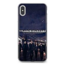 Pour Samsung Galaxy J1 J2 J3 J4 J5 J6 J7 J8 Plus 2018 Premier 2015 2016 2017 Shadowhunters La Mortel Instruments Étui Souple(China)