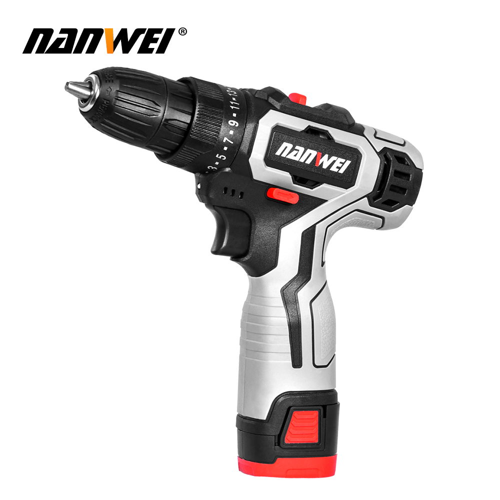 New Mini 8 Ion New NANWEI For 3 18V Lithium Household Battery Screwdriver In 2020 Color 12V Style