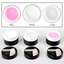 Nail Builder Gel UV Gel Poly Gel Soak Off Gel Nagels Builder Poligel Nagels Uitbreiding Acryl Nail Crystal UV Hars builder TSLM1(China)