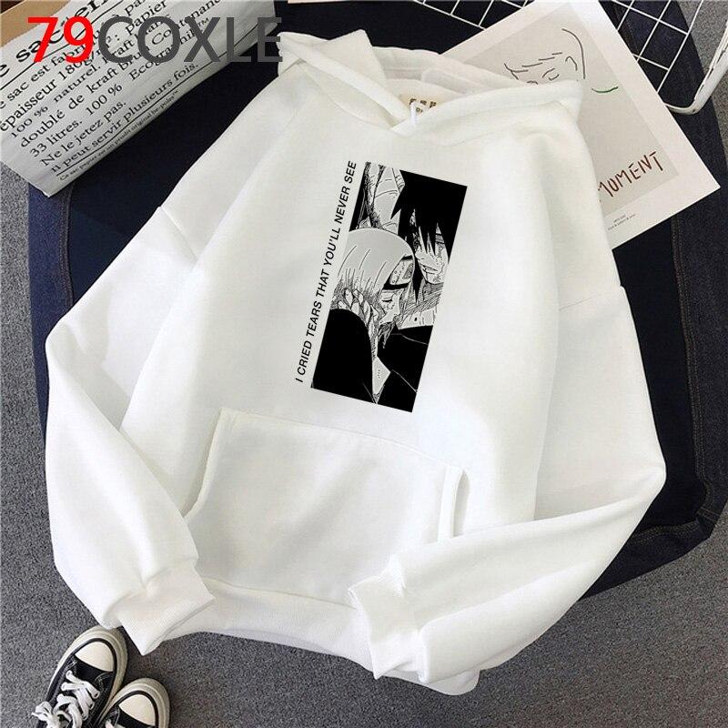 Anime Naruto Akatsuki hoodies men grunge plus size 2020 printed men hoody sweatshirts grunge
