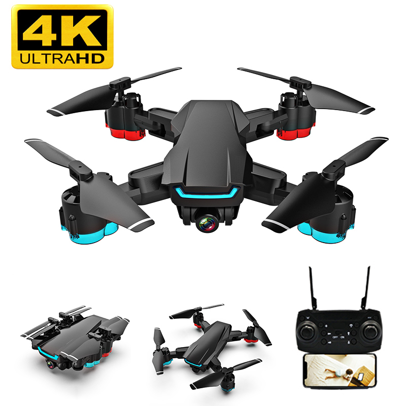 K2 Drone 4k HD Camera Drone 1080P WIFI FPV Drone Video Live Quadcopter Altitude Keep Drones With Camera RC Helicopter Dron Toys
