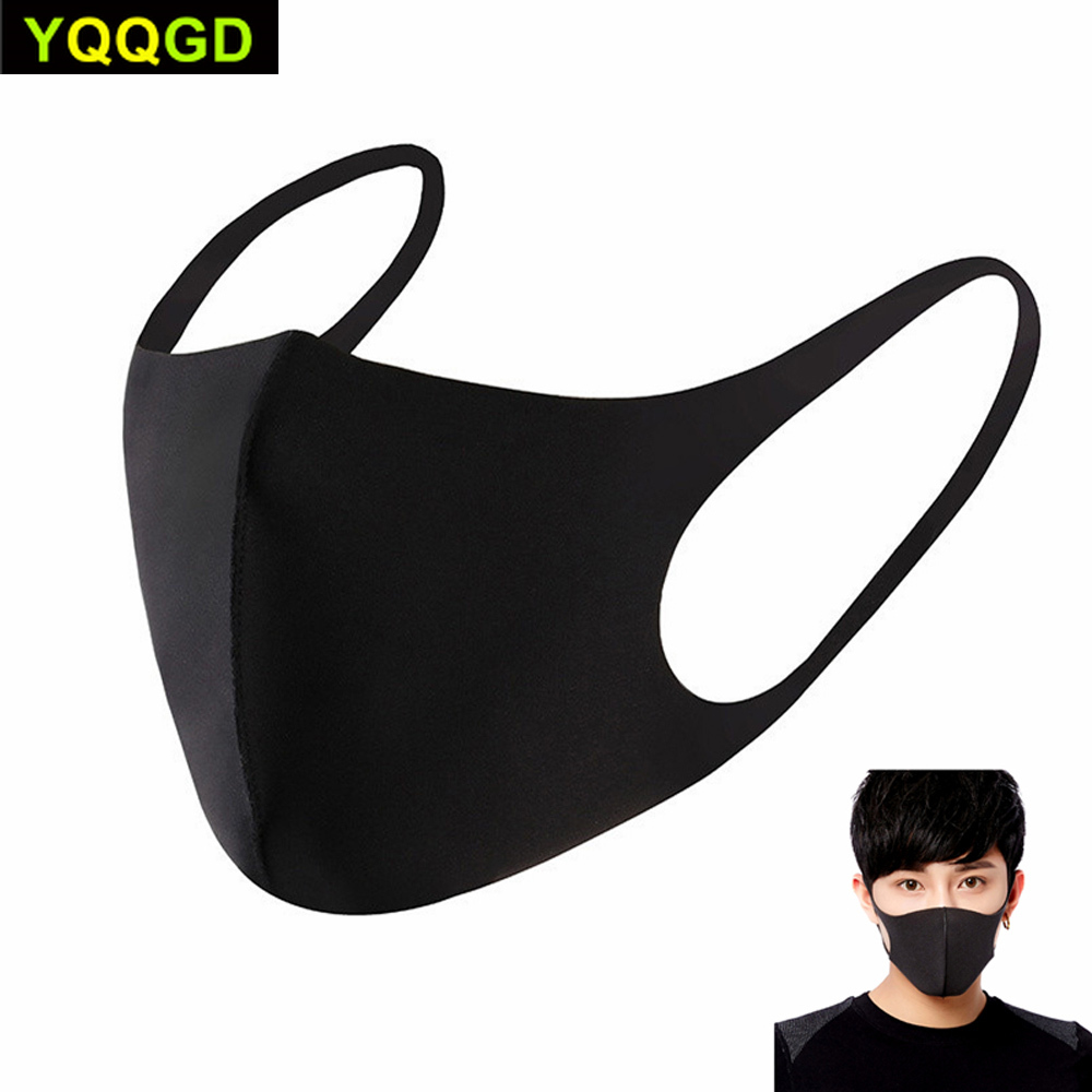 Pollution Mask Anti Air Dust And Smoke Pollution Mask With Elastic Earloop Washable Mask Made For Men Women