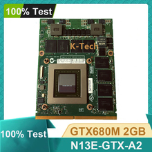 Original GTX680M GTX 680M N13E-GTX-A2 VGA GPU Grafikkarte Video Display Karte Für DELL Alienware M15X M17X M18X R1 r2 R3 R4 2GB
