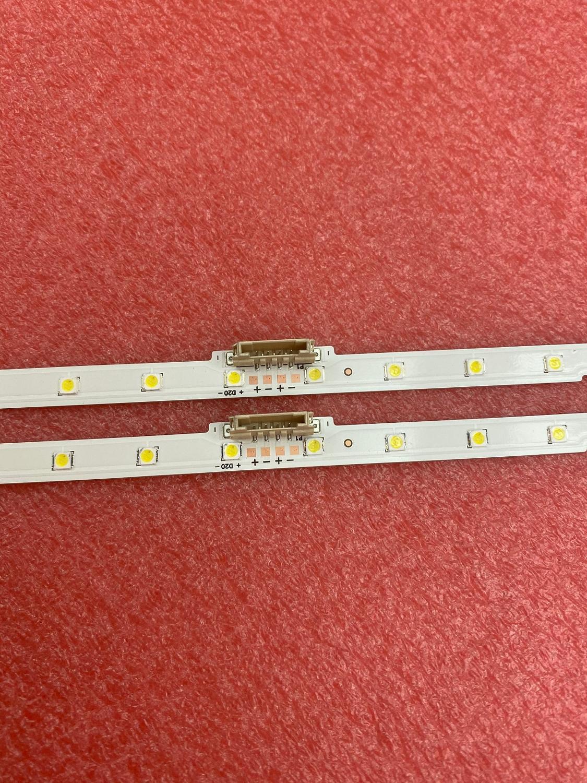 2 PCS 38LED LED Backlight Strip For Samsung UE50NU7100 UE50NU7020 50NU7400 BN96-45952A UN50NU7100 Un50nu6900 LM41-00564a 46034A