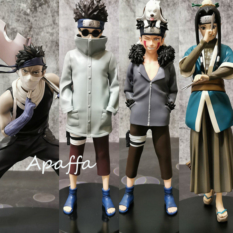 23cm NARUTO Inuzuka Kiba PVC Action Figure Naruto Shippuden Inuzuka Kiba Anime Figurine Collectible Model Toys Doll