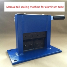 Manual aluminum tube sealing machine sealing machine aluminum laminate plate crimping sealing tape coding