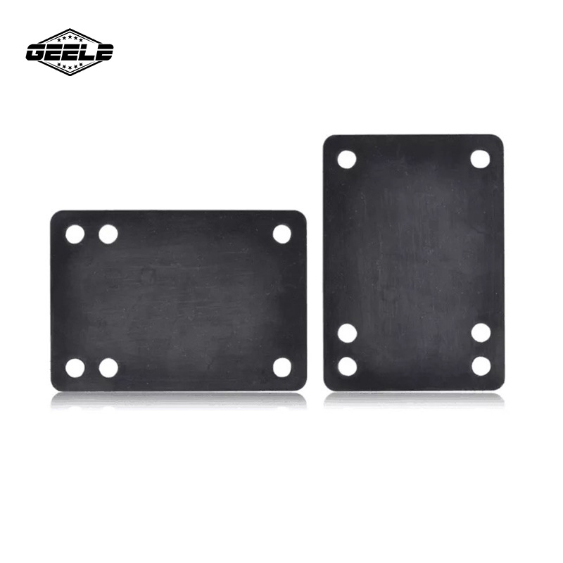 Manufacturers Direct Selling Skateboard Heightening Damping Gasket Skateboard Bridge Pad Holder Extra High Pu Rubber Gasket