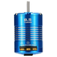 High Efficiency 540 Sensored Brushless Motor for 1/10 RC Car Blue, 8.5T 4100KV