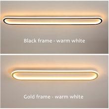 Светодиодный потолочный светильник современный проходной s для