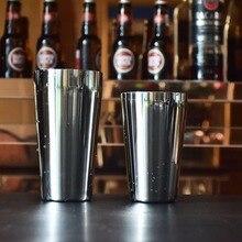 Профессиональный S75-9 600 мл из нержавеющей стали шейкер набор шейкер Бостонского стиля винный миксер питьевой инструмент для бармена подарки