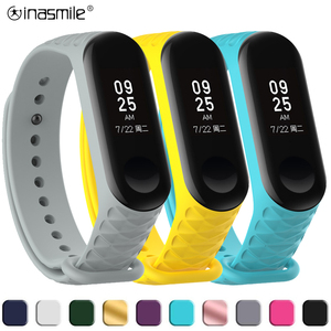 Gorgeous strap For Xiaomi Mi Band 3 Strap Wristband Replacement bracelet For mi band 4 Smart correa bracelet xiao mi band strap