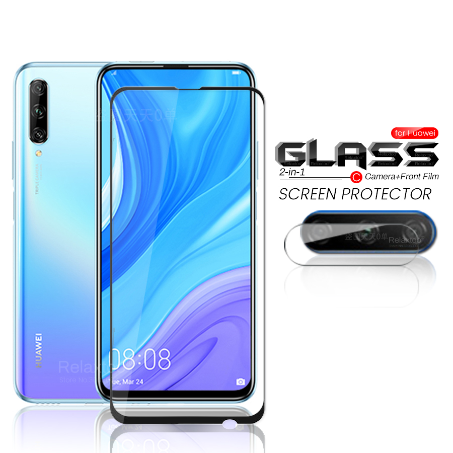 2-in-1 Hauwei Y9s Glass Camera Protective Glass For Huawei Y9s Y9 S 6.59'' Safety Armored Protection Film Huaweiy9s Safe Glasses