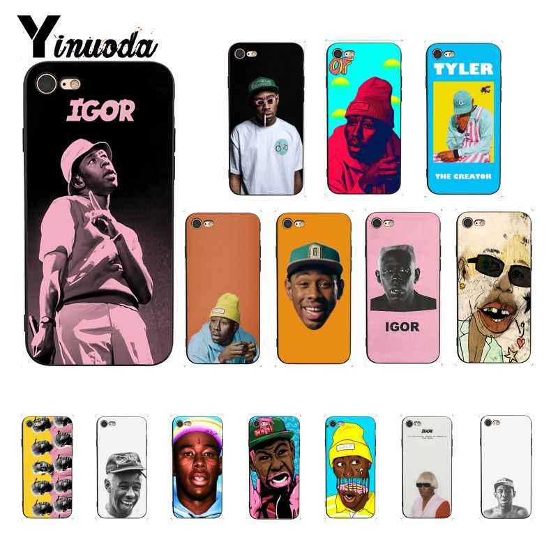 Yinuoda Tyler die creator igor album Nach Foto Weiche Telefon Fall Abdeckung für iPhone 8 7 6 6S 6 plus X XS MAX 5 5S SE XR