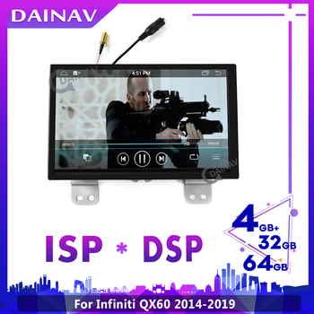 2din Android Car Multimedia DVD Player For Infiniti QX60 2014-2019 GPS Navigation Car Autoradio Player image