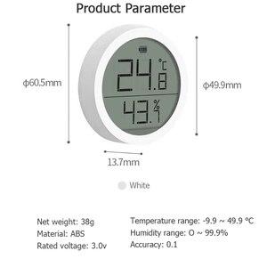 Image 5 - Qingping Bt Thermometer Hygrometer Temperatuur En Vochtigheid Sensor Segment Code Lcd scherm Lite Edition Werken Met Mijia App