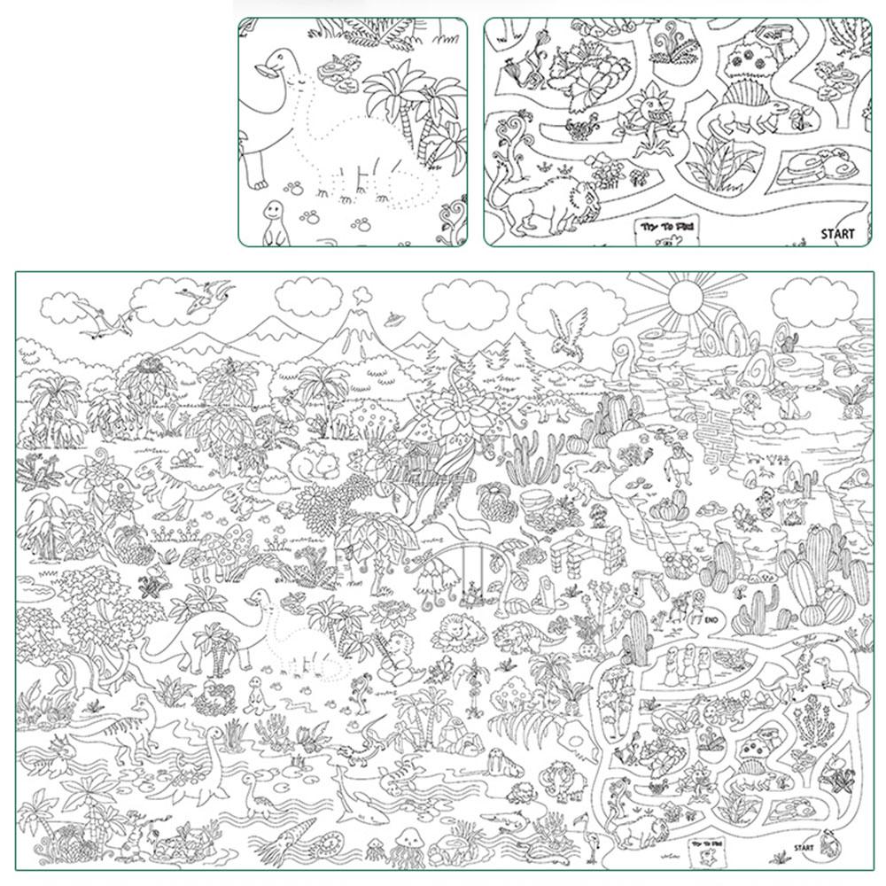 Anak Anak Super Pelukis Bayi Besar Kertas Gambar Raksasa Mewarnai Poster Mainan Anak Laki Laki Gadis Ulang Tahun Hadiah Pendidikan Menggambar Mainan Menggambar Mainan Aliexpress