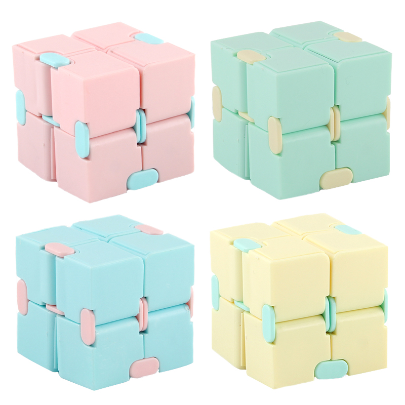 2021 Antistress Infinite Cube Infinity Cube Cube Office Flip Cubic Puzzle Stress Reliever Autism Toys Relax Toy For Adults Gift img3