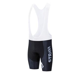 Image 4 - STRAVA 2019 Pro Team Cycling Shorts Men Bib Anti Slip Gel Cycling MTB Bike Shorts Mountain Bicycle Short Pants ciclismo