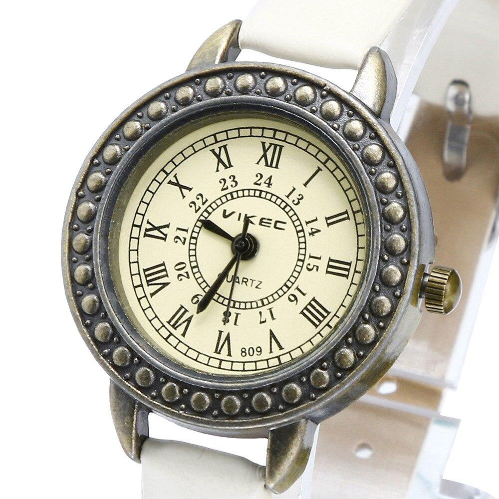 Retro Roman Clock Reloj Mujer Women Watches Literary Fine Women's Watch Ladies Leather Quartz Wristwatches Bracelet Watch New *A