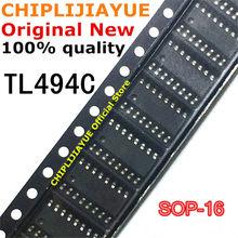 10 pces tl494cd sop-16 tl494cdr tl494c tl494 sop16 smd novo e original chipset ic