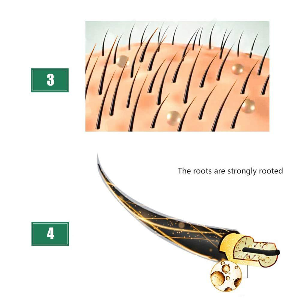 3 шт. удобрения для волос ускоренный рост волос жидкость средство для роста волос здоровая Сыворотка для волос ремонт растущий более быстрое лечение потери 3 шт