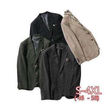 Slim Casual Suit Men's Jacket Spring New Long-sleeved Korean Trend Men's Suit Jacket Casual 2020