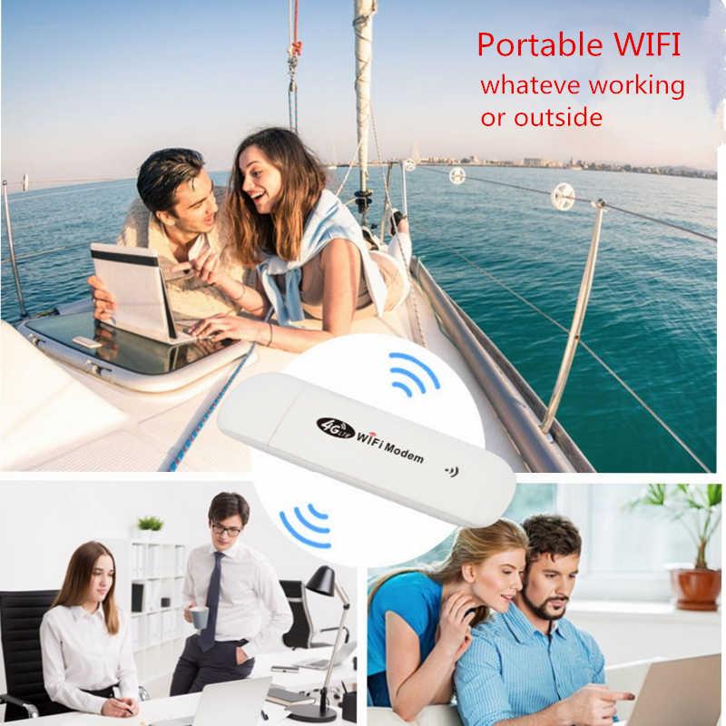 4G/3G LTE USB מודם רשת מתאם עם WiFi Hotspot ה-SIM כרטיס 4G אלחוטי Wi-Fi נתב עבור Win XP Vista 7/10 Mac 10.4 IOS