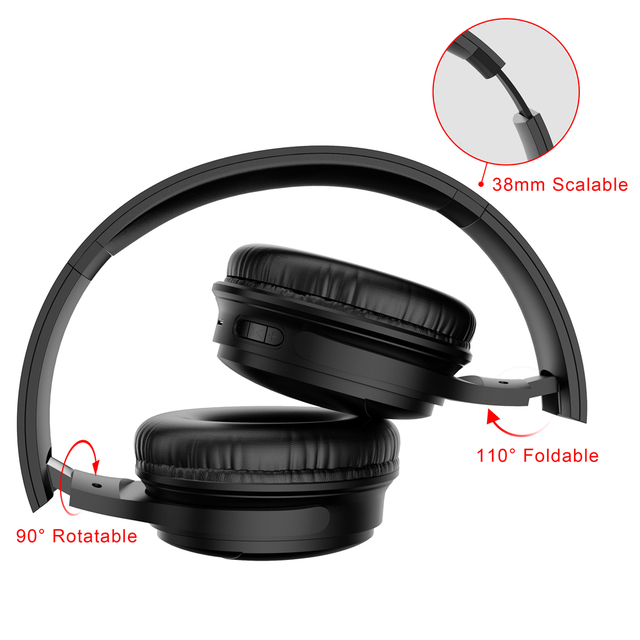 H1 Pro Wireless Gaming Headset Bluetooth V5.0 HD HIFI Stereo Noise Canceling Hands-free 4