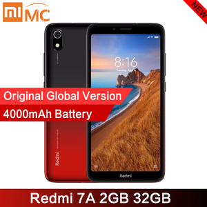 "Image 1 - 원래 Xiaomi Redmi 7A 2GB 32GB 스마트 폰 5.45 ""HD 디스플레이 Snapdargon 439 Octa Core 4000mAh 12MP AI Face 휴대 전화 잠금 해제"