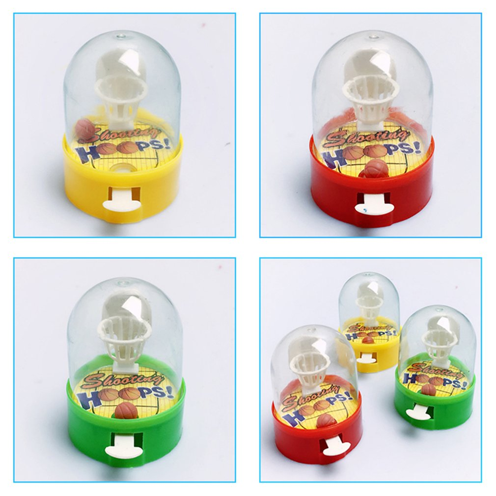 Hot Sale Mini Pocket Basketball Palm Portable Shooting Game Children'S Puzzle Desktop Toys Parent-Child Interactive Indoor Toys