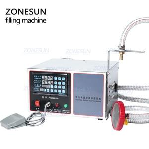Image 5 - ZONESUN GZ GFK17C Automatic Filling Machine Laundry Detergent Shampoo Oil  Juice Water milk Liquid Bottle Filling Machine