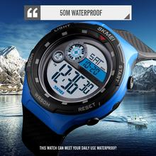 SKMEI Sport Watch Men Digital Fashion Outdoor Waterproof Wristwatches Alarm Clock Watches 1465