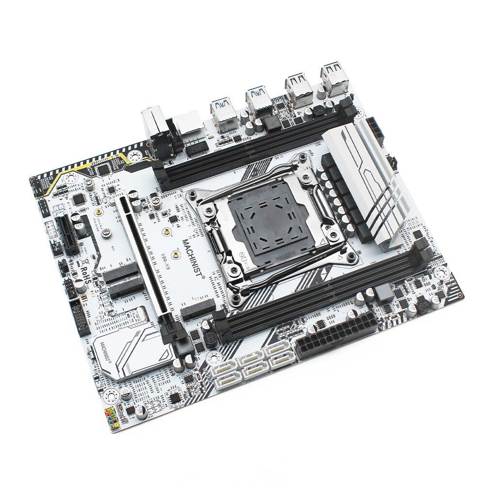MACHINIST X99 motherboard LGA  Intel xeon E5 2620 xeon pc kit x99 2011-3 processor DDR4 32GB 2666mhz RAM memory M-ATX X99-K9 2