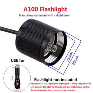 Image 5 - Contrôleur de pression, 9 modèles, pour lampe torche, interrupteur queue de Rat, pour C8/501/502B/VA 501/A100/C10/801/T67/710